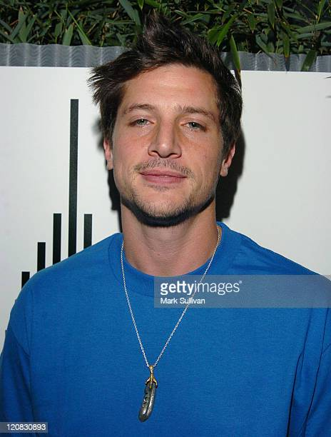 Simon Rex during Empire State Clothing Launch and Spring 2006 Collection Preview at Hollywood Roosevelt Hotel in Hollywood California United States