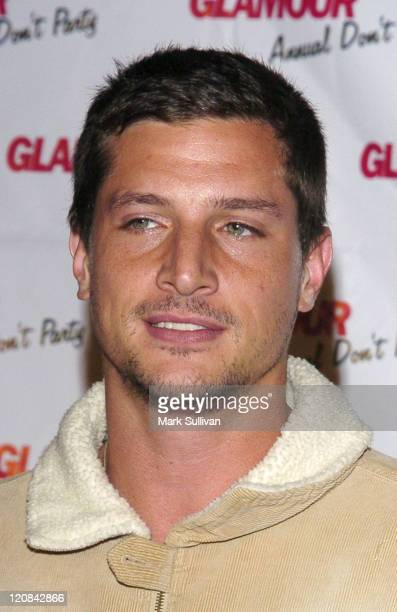 Simon Rex during Glamour Magazine 'Don't' Party at Del Taco Arrivals at Del Taco in Hollywood California United States