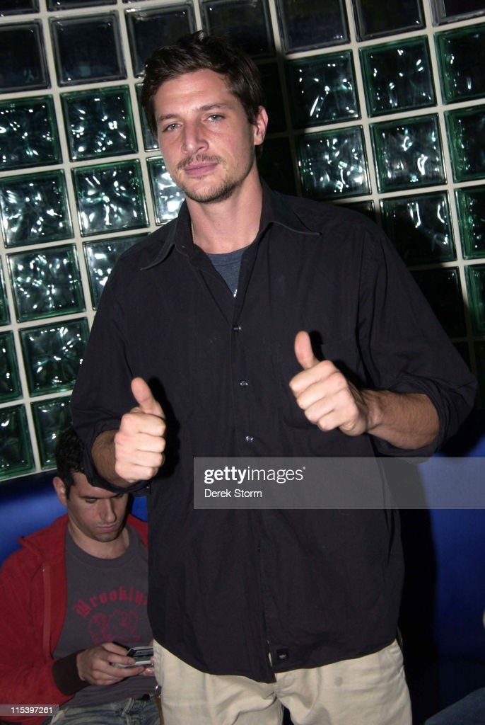 Simon Rex during Keith Collins and Simon Rex Host 'Pretty Academy' at Quo in New York City - December 1, 2005 at Quo in New York City, New York, United States.