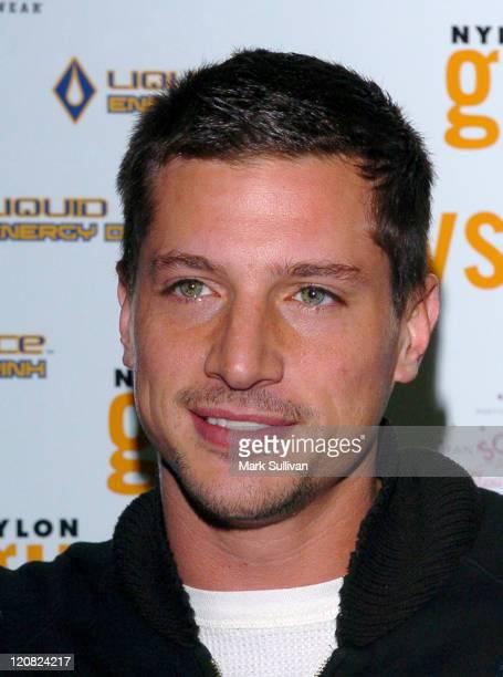 Simon Rex during Nylon Guys Magazine Launch Party at Tokio in Hollywood California United States