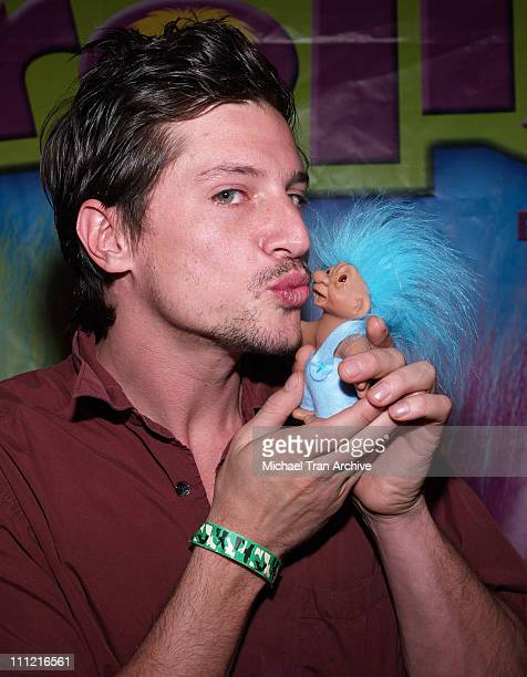 Simon Rex during The Original Lucky Trolls at Silver Spoons Hollywood Buffet Day 1 at Private Residence in Beverly Hills California United States