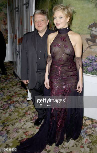 "Simon Russell Beale and Essie Davis during Opening Night of ""Jumpers"" - After Party at Tavern On the Green in New York City, New York, United States."