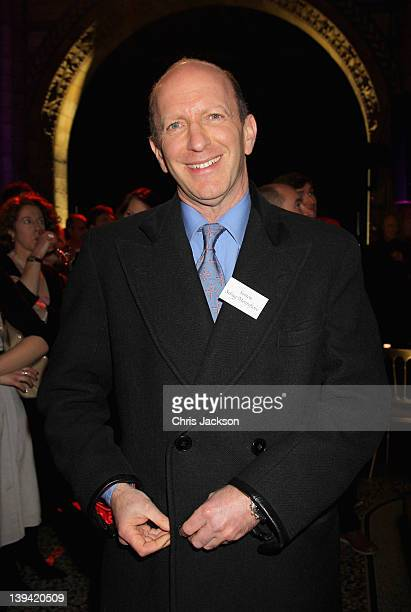 Simon Sebag Montefiore attends the 2012 Orion Authors' Party at the Natural History Museum at the Natural History Museum on February 20 2012 in...