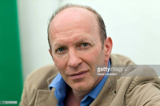 Simon Sebag Montefiore author attends the Hay Festival on June 5 2011 in HayonWye Wales