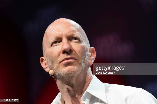 Simon Sebag Montefiore historian during the 2019 Hay Festival on June 1 2019 in HayonWye Wales