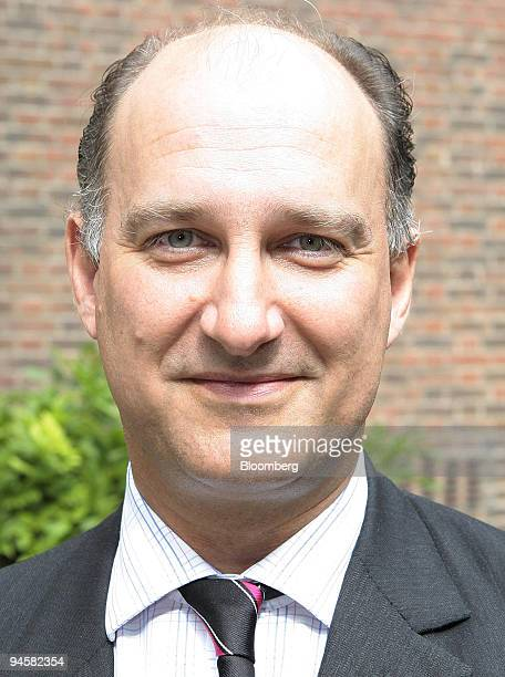 Simon Shaw chief financial officer of Gyrus poses after releasing the company's interim results in London UK on Monday Sept 17 2007 Gyrus Group Plc...