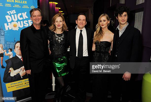 Simon Shepherd Nancy Carroll Ben Miller Diana Vickers and James Musgrave attend an after party celebrating the press night performance of The Duck...