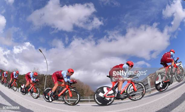 Simon Spilak of Slovenia Alex Dowsett of Great Britain Jose Goncalves of Portugal Nathan Haas of Australia Marcel KITTEL of Germany Rick Zabel of...