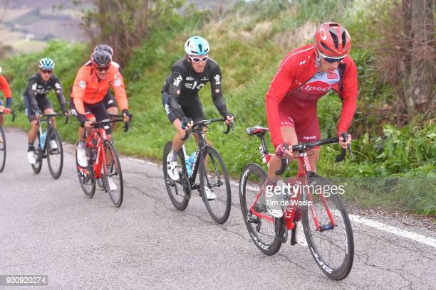 Simon Spilak of Slovenia during the 53rd TirrenoAdriatico 2018 Stage 6 a 153km stage from Numana to Fano on March 12 2018 in Fano Italy