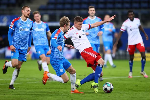 DEU: Hamburger SV v Holstein Kiel - Second Bundesliga
