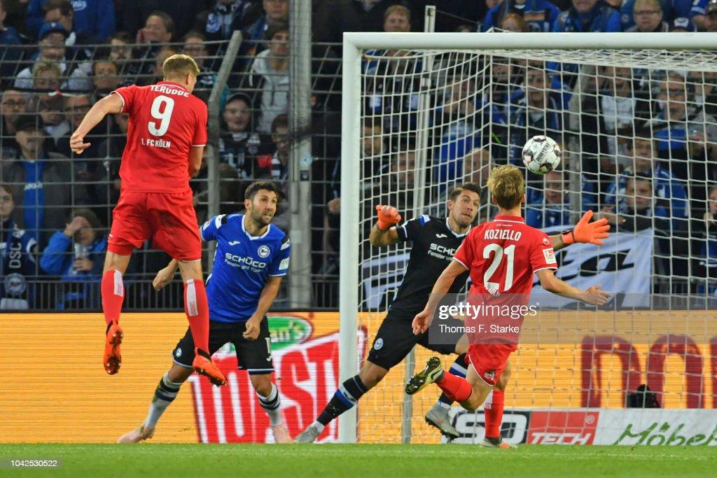 DSC Arminia Bielefeld v 1. FC Koeln - Second Bundesliga : News Photo