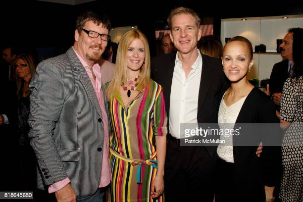 Simon Van Kempen Alex McCord Matthew Modine and Cari Modine attend Opening of Leica Boutique at Willoughby's Imaging Center at 298 Fifth Avenue on...