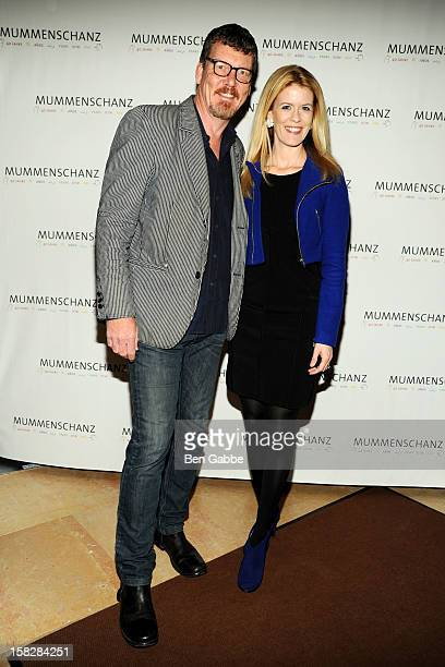 Simon van Kempen and Alex McCord attend 'Mummenchanz' Opening Night Celebration at Skirball Center NYU on December 12 2012 in New York City