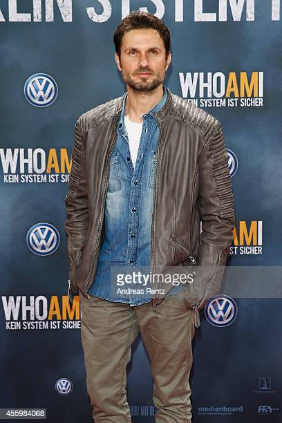 Simon Verhoeven attends the premiere of the film 'Who am I' at Zoo Palast on September 23 2014 in Berlin Germany