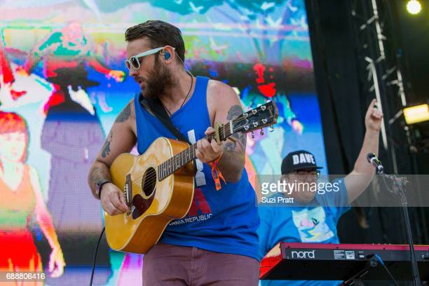 Simon Ward and Dave Ritter of The Strumbellas perform at the Sasquatch Music Festival at Gorge Amphitheatre on May 26 2017 in George Washington