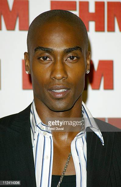Simon Webb from Blue during FHM Top 100 Sexiest Women 2004 at Guild Hall in London Great Britain