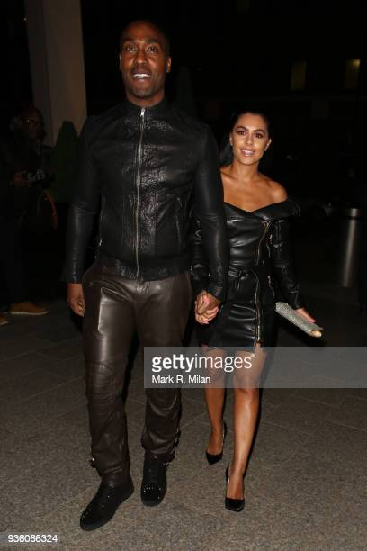 Simon Webbe attending the OK Magazine's 25th anniversary party at the Shard on March 21 2018 in London England