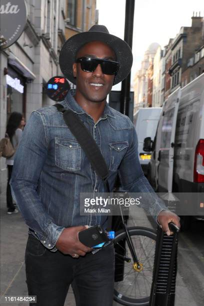 Simon Webbe attending The Paul Strank Charity Summer Party on July 11 2019 in London England