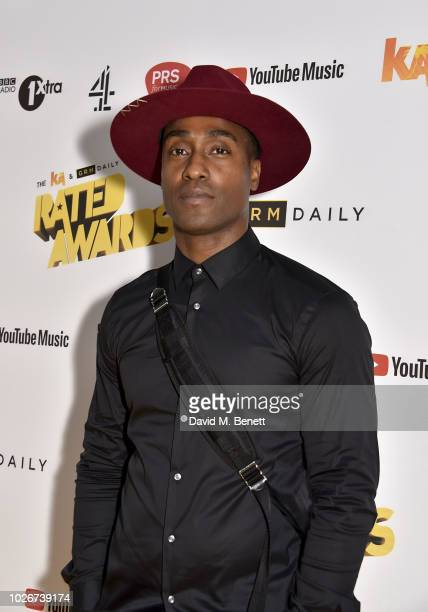 Simon Webbe attends the 2018 KA GRM Daily Rated Awards at Eventim Apollo on September 4 2018 in London England