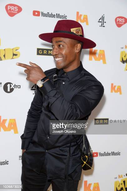 Simon Webbe attends UK Grime and Hip Hop event the KA GRM Daily RATED AWARDS 2018 at Eventim Apollo on September 4 2018 in London England