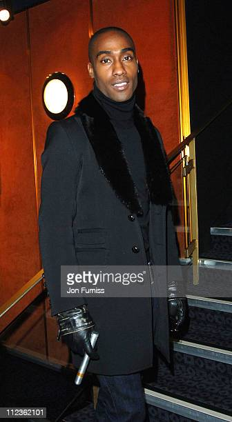 """Simon Webbe during George Michael's """"A Different Story"""" Gala London Screening - Inside at Curzon Mayfair in London, Great Britain."""