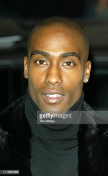 Simon Webbe during George Michael's A Different Story Gala London Screening Outside Arrivals at Curzon Mayfair in London Great Britain