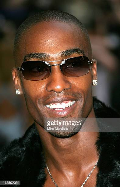 Simon Webbe during 'I ROBOT' London Premiere Arrivals at Leicester Square Odeon in London Great Britain