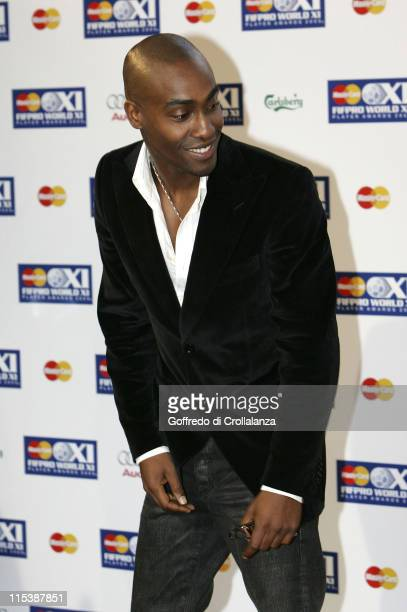 Simon Webbe from Blue during FIFPRO World XI Player Awards at Wembley Conference Centre in London Great Britain