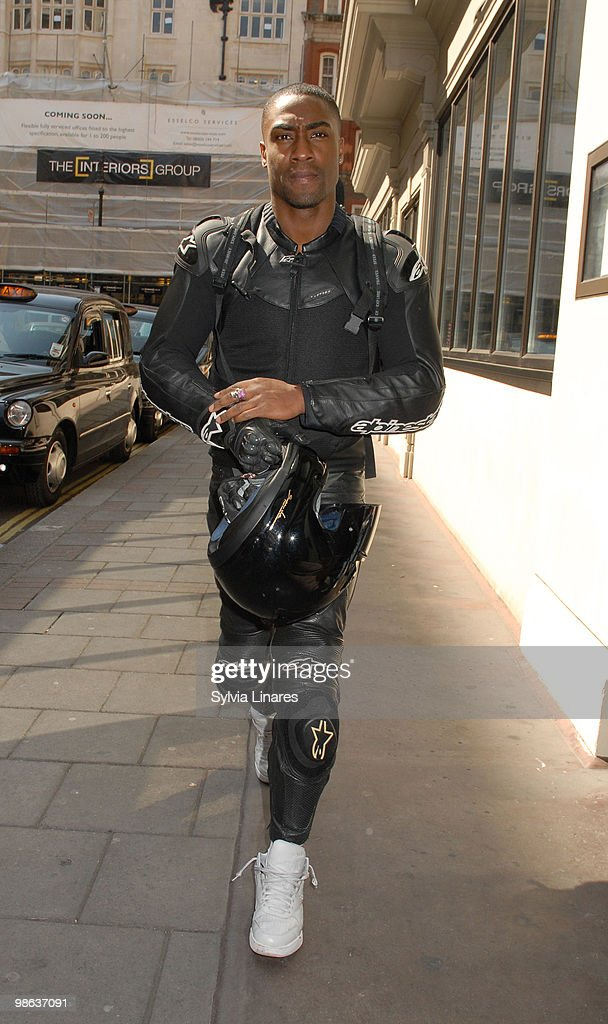 Simon Webbe is sighted on April 23, 2010 in London, England.