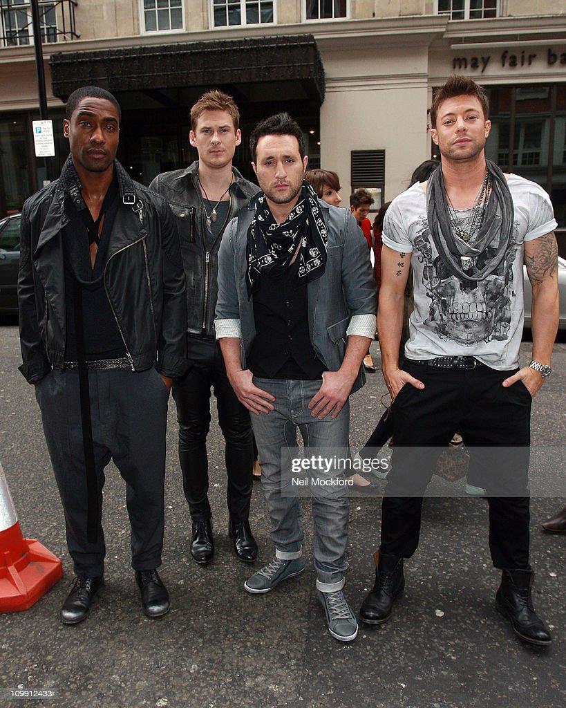 Celebrity Sightings In London - March 10, 2011