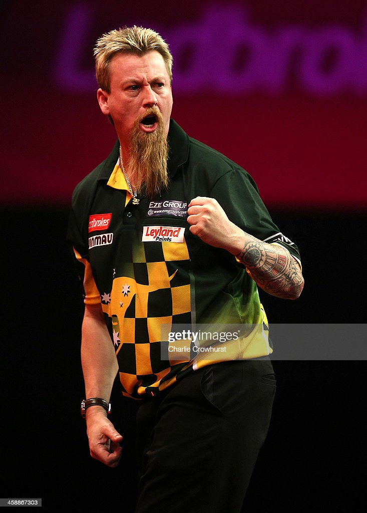 2014 Ladbrokes.com World Darts Championship - Day Ten