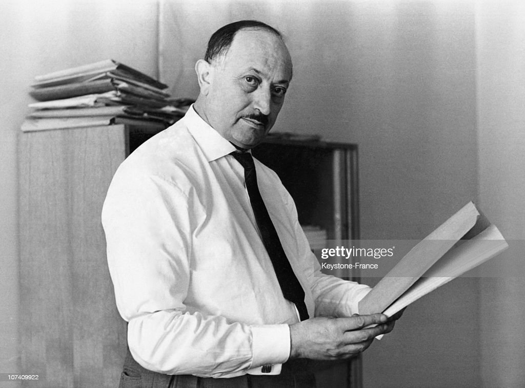Simon Wiesenthal In The 1960'S : News Photo
