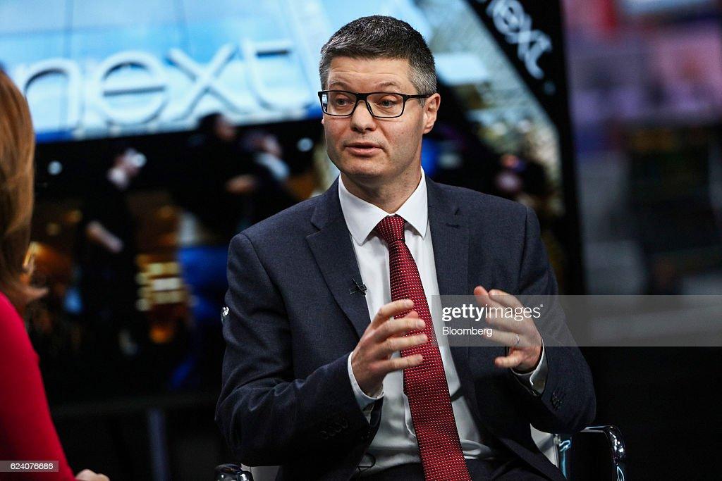 Next Plc Chief Executive Officer Simon Wolfson Interview : News Photo