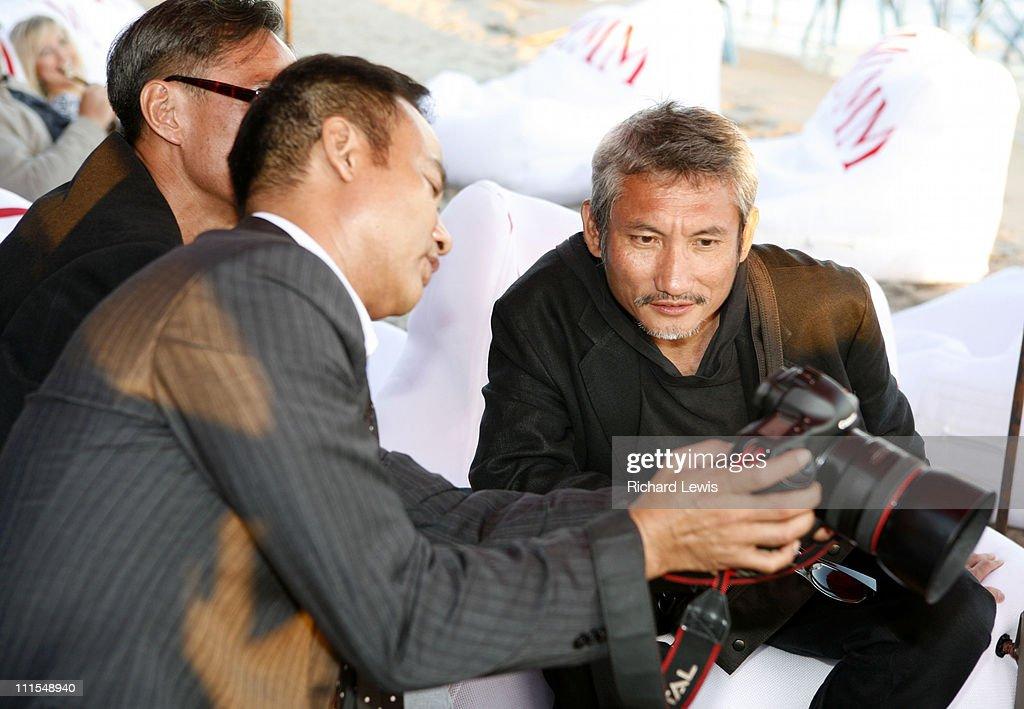 "2007 Cannes Film Festival - Miramar ""Triangle"" Party"