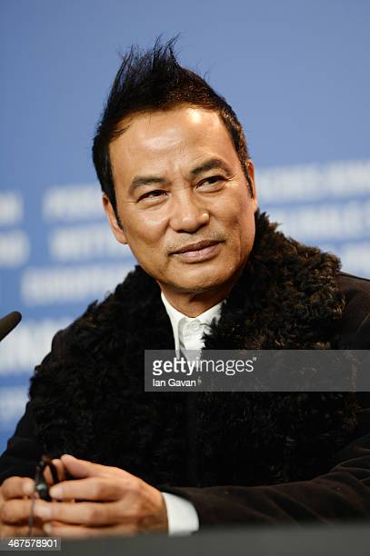 Simon Yam attends the 'The Midnight After' Press Conference during 64th Berlinale International Film Festival at Grand Hyatt Hotel on February 7 2014...