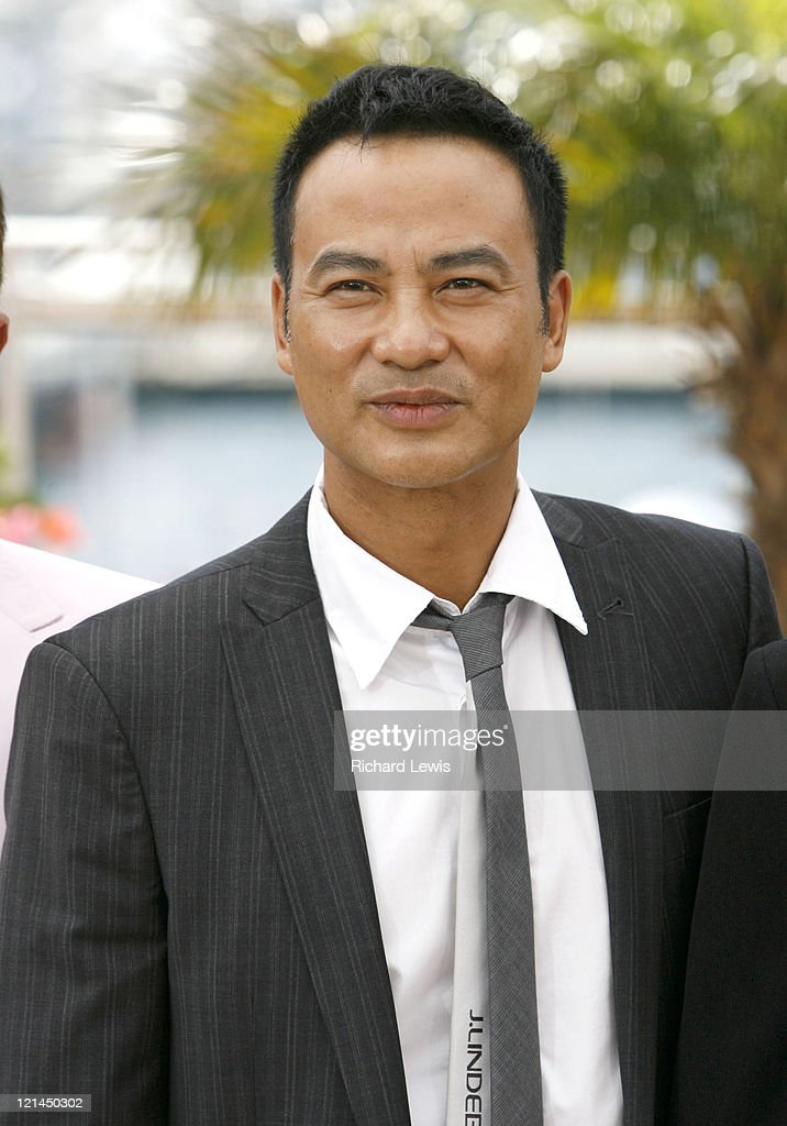Simon Yam during 2007 Cannes Film Festival - 'Triangle' Photocall at Palais de Festival in Cannes, France.