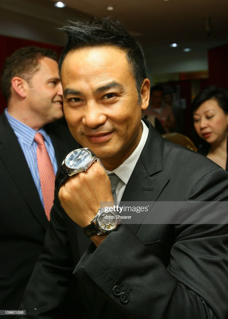 OMEGA Boutique Opening with Appearance by OMEGA Ambassadors Simon Yam and Qi Qi