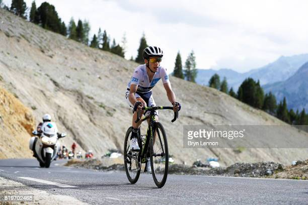 Simon Yates of Great Britain and Orica Scott in action on stage eighteen of the 2017 Tour de France a 1795km stage from Briancon to Izoard on July 20...