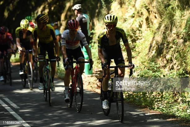 Simon Yates of Great Britain and Team MitcheltonScott / during the 39th Clásica Ciclista San Sebastián 2019 a 2273km race from DonostiaSan Sebastián...