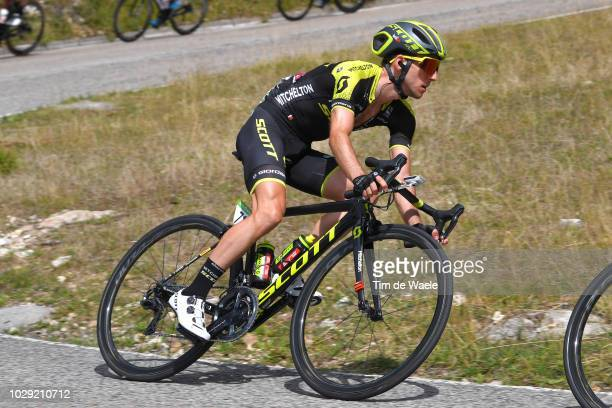 Simon Yates of Great Britain and Team MitcheltonScott / during the 73rd Tour of Spain 2018 Stage 14 a 1714km stage from Cistierna to Alto Les Praeres...