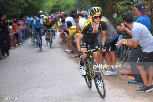 Simon Yates of Great Britain and Team Mitchelton-Scott / during the 73rd Tour of Spain 2018, Stage 14 a 171,4km stage from Cistierna to Alto Les...
