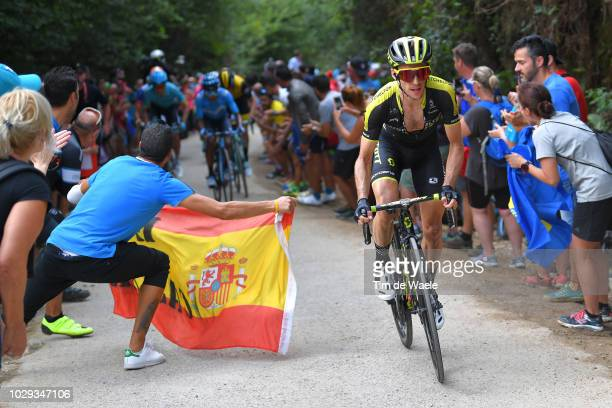 Simon Yates of Great Britain and Team Mitchelton-Scott / Fans / Public / during the 73rd Tour of Spain 2018, Stage 14 a 171,4km stage from Cistierna...
