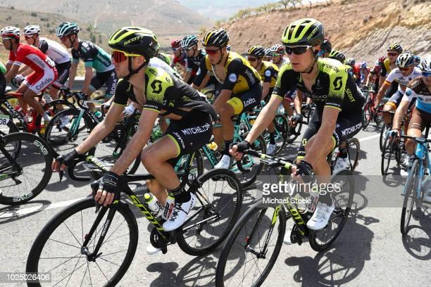 Simon Yates of Great Britain and Team Mitchelton-Scott / Jack Haig of Australia and Team Mitchelton-Scott / Peloton / during the 73rd Tour of Spain...