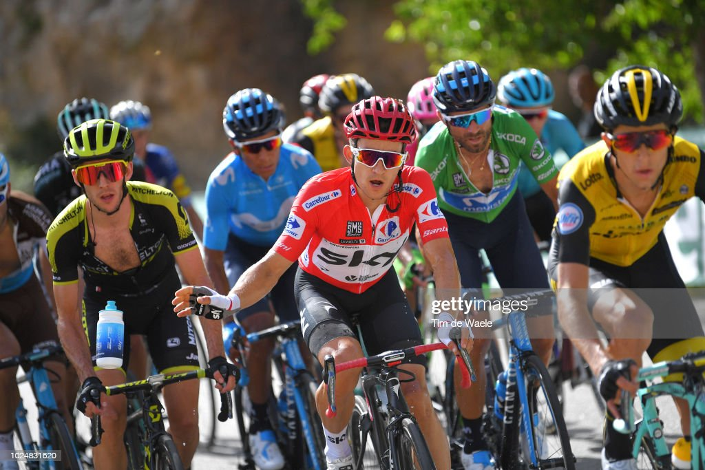 Cycling: 73rd Tour of Spain 2018 / Stage 4 : Nachrichtenfoto