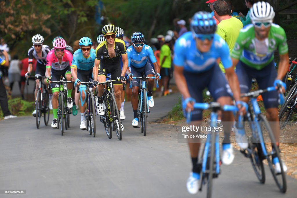 Cycling: 73rd Tour of Spain 2018 / Stage 14 : Foto jornalística