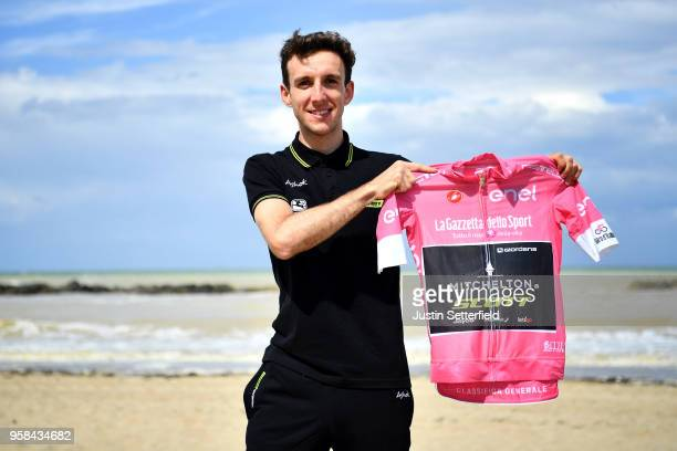 Simon Yates of Great Britain and Team Mitchelton-Scott Pink Leader Jersey / attend to the Press Conference during the 101th Tour of Italy 2018, Rest...