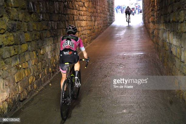 Simon Yates of Great Britain and Team Mitchelton-Scott Pink Leader Jersey / Christopher Froome of Great Britain and Team Sky / Tunnel / during the...