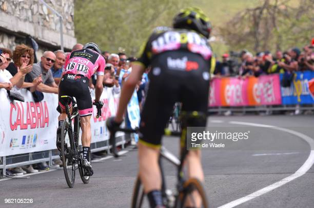 Simon Yates of Great Britain and Team Mitchelton-Scott Pink Leader Jersey / Mikel Nieve Ituralde of Spain and Team Mitchelton-Scott / during the...