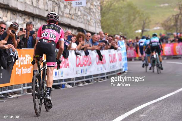 Simon Yates of Great Britain and Team MitcheltonScott Pink Leader Jersey /during the 101st Tour of Italy 2018 Stage 18 a 196km stage from...