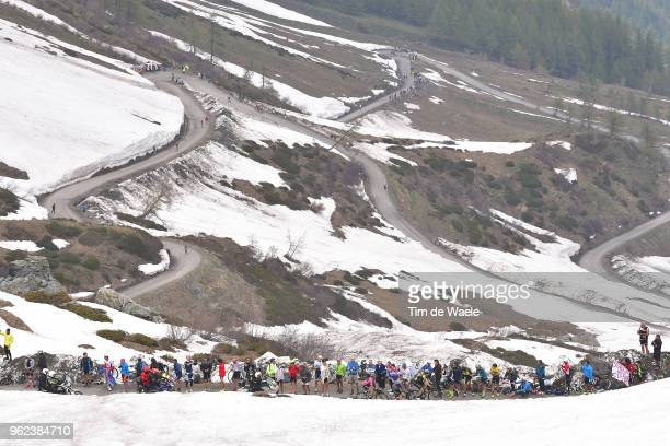 Simon Yates of Great Britain and Team Mitchelton-Scott Pink Leader Jersey / Mikel Nieve Ituralde of Spain and Team Mitchelton-Scott / Landscape /...